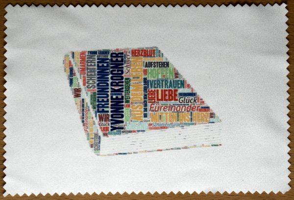 Displaytuch im Yvonne Krogner-Design